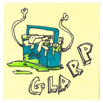 Post-It A Day – Glarp!