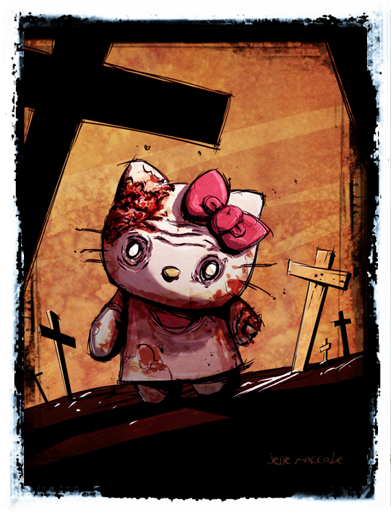 Hello Kitty Zombie