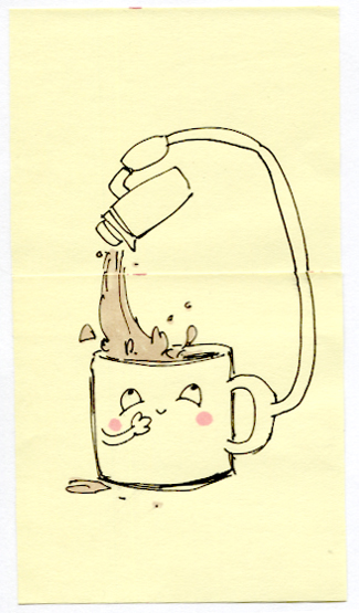 Post-It A Day – Morning Coffee