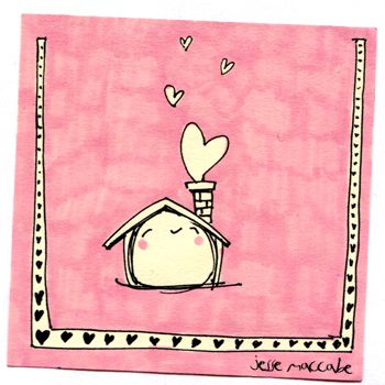 Post-It A Day – Happy House