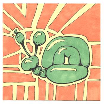 Post-It A Day – Balloon Snail