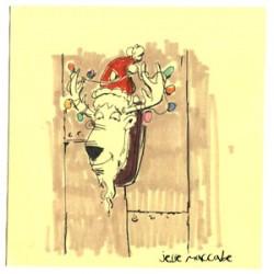 Deer heads love Christmas