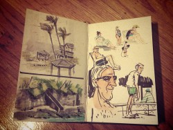 Sketches from Maui, Hawaii (: