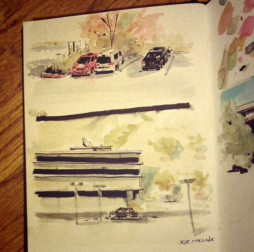 Quick Watercolor Sketches