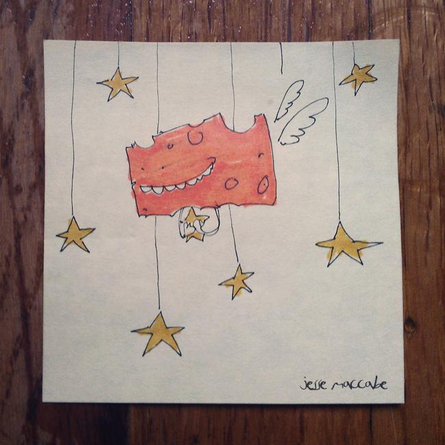 Cheese + Stars