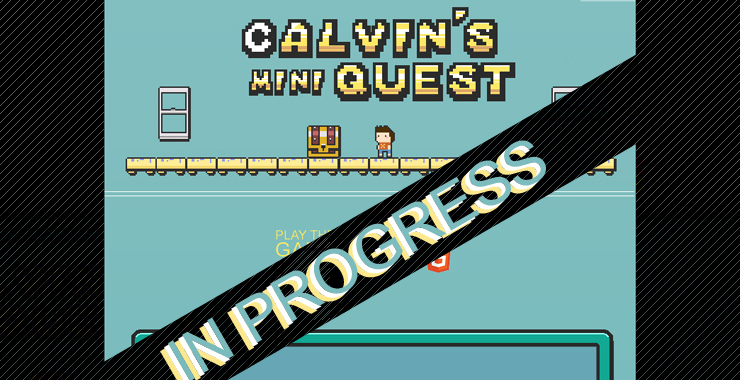 Calvin's Mini Quest Website